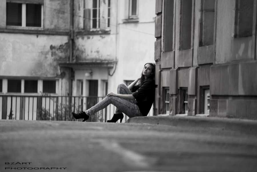 Streetshooting mit Katharina