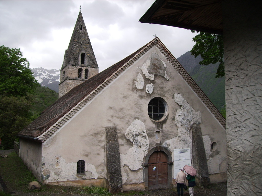 Kirche in St. Maurice