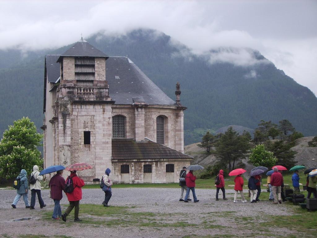Kirche auf der Festung Mont Vauban