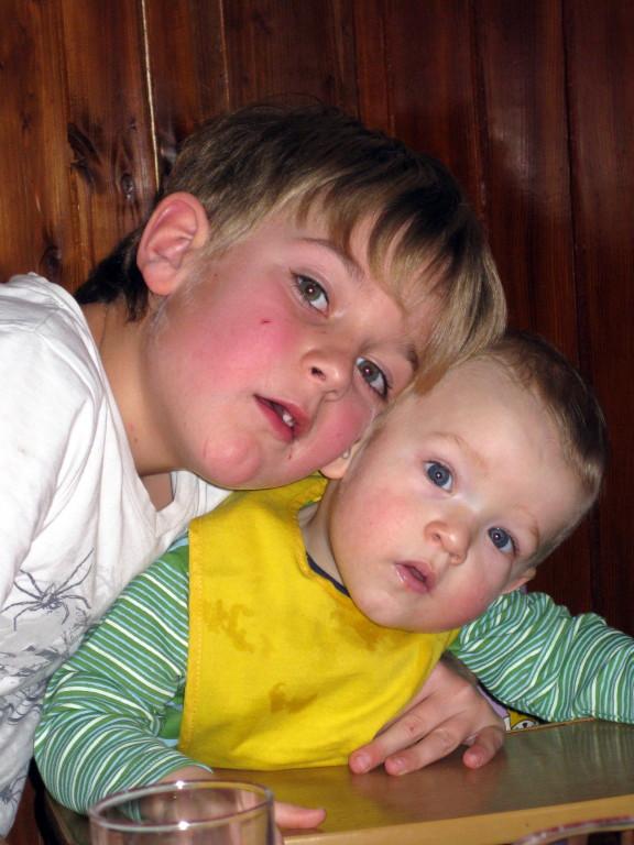 Jannik und Mika