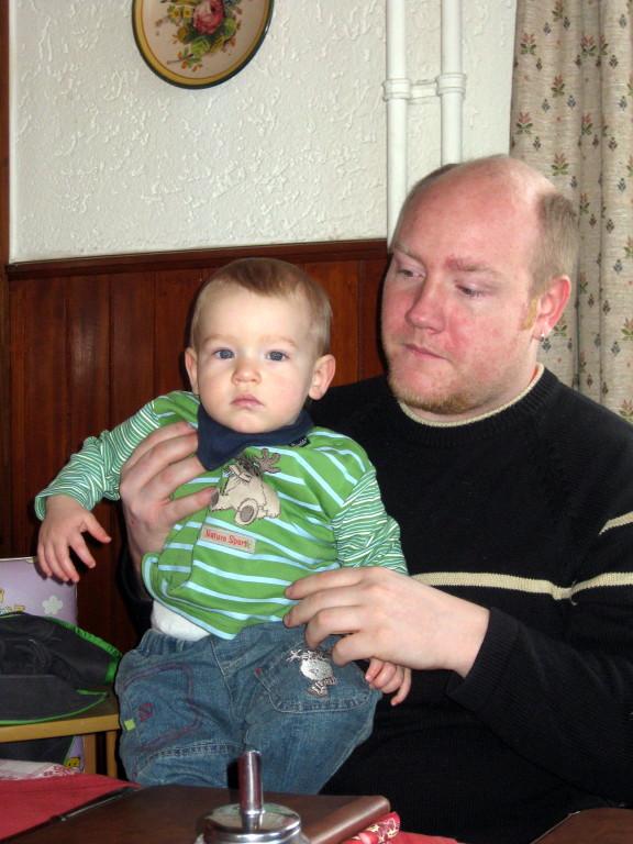Mika und Papa