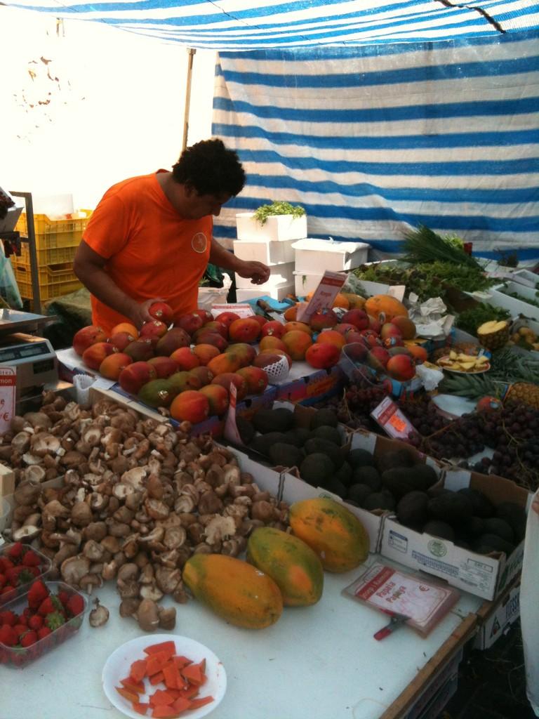Obst- und Gemüsemarkt in Denia