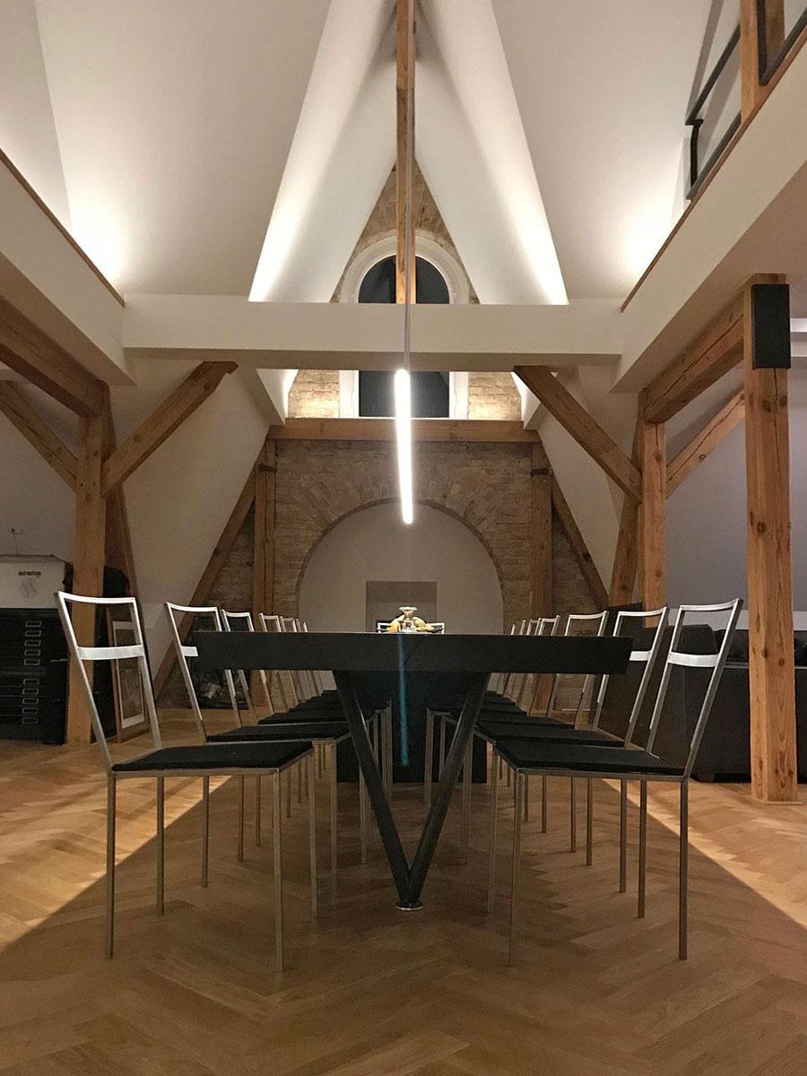 Möbel aus Holz > großer Esstisch BERLIN