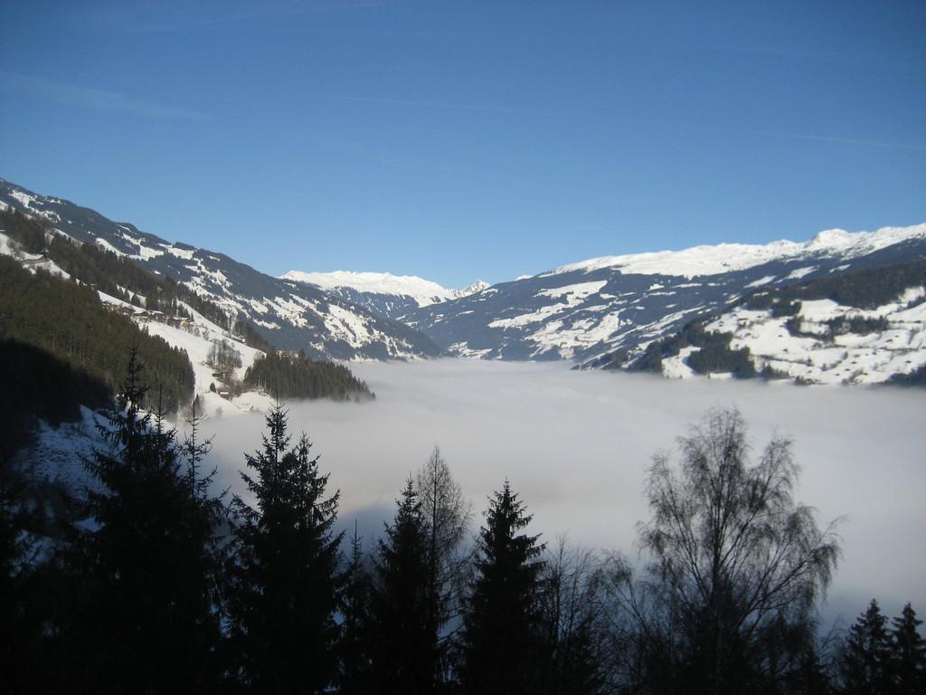 Blick von der Horbergbahn aufs Zillertal
