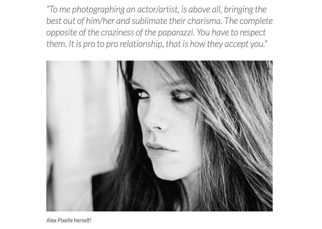 Interview sur le site Americain I LOVE HATEPHOTO