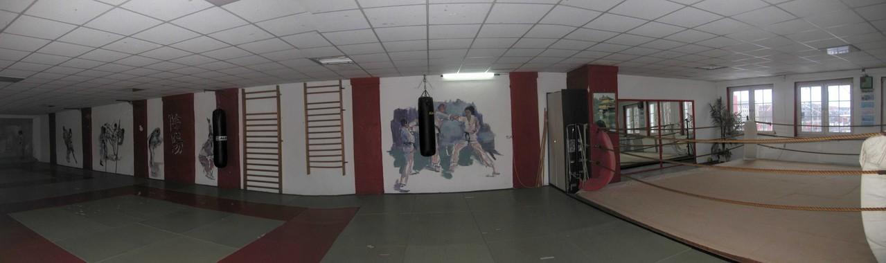 Der große Trainingsraum