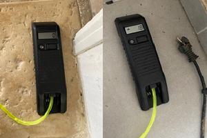 Altimètre électronique, outil d'EM EXPERTISE, expert en bâtiment