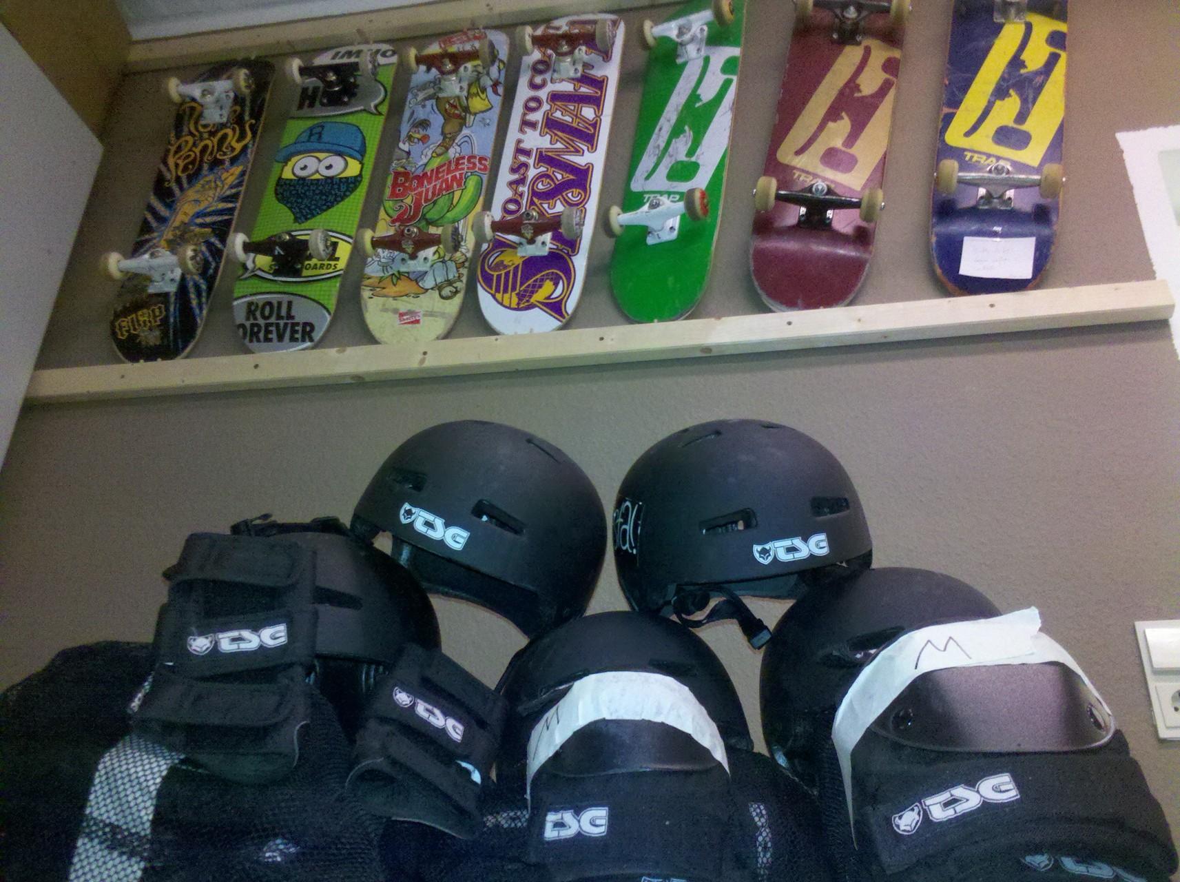 Skateausrüstung