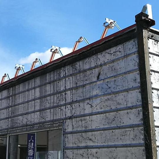 [外観 Before③]新しく屋根を葺く準備をして