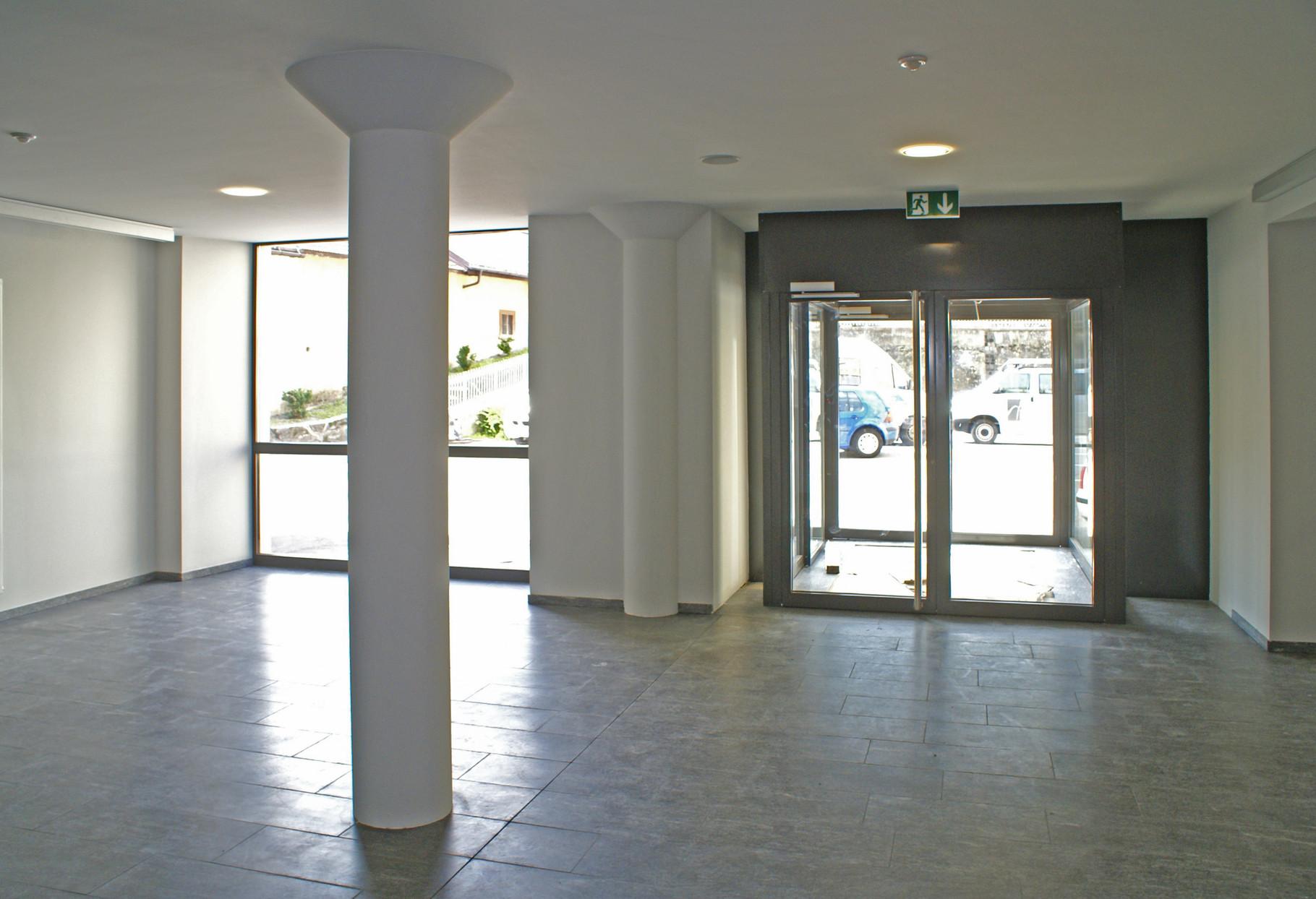 Foyer und Südausgang