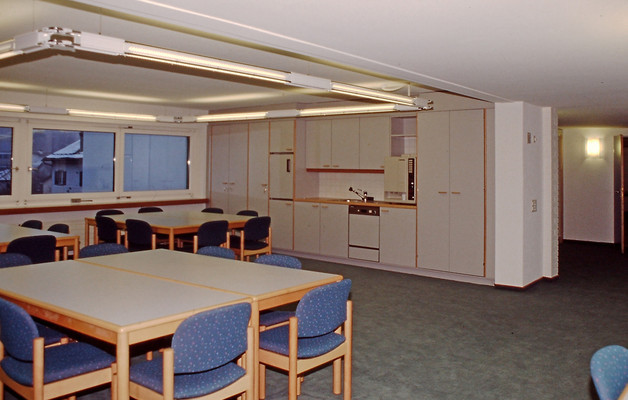 Renoviertes Lehrerzimmer
