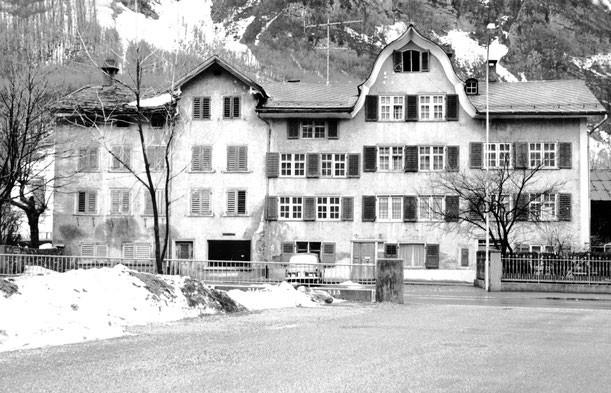 Wiggishäuser vor 1973, Foto: Jakob Kubli