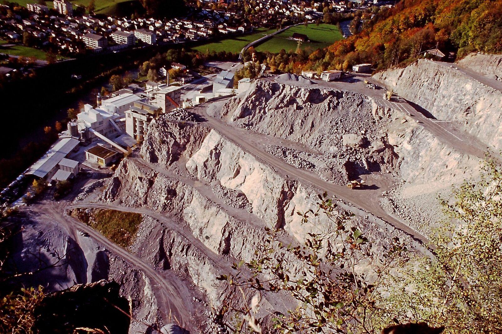 Terrassen 1996 gegen Norden