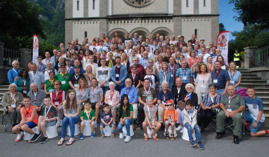 Leuzinger aus aller Herren Länder am Leuzinger-Treffen 2017.