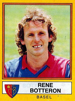 René Botteron spielte von 1983 bis 1987 beim FC Basel