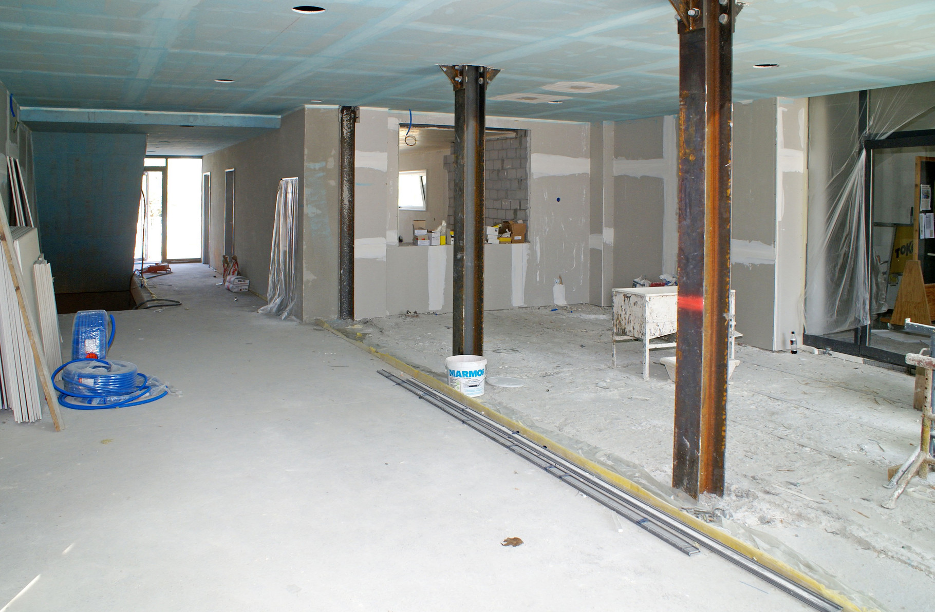 Foyer im Bau