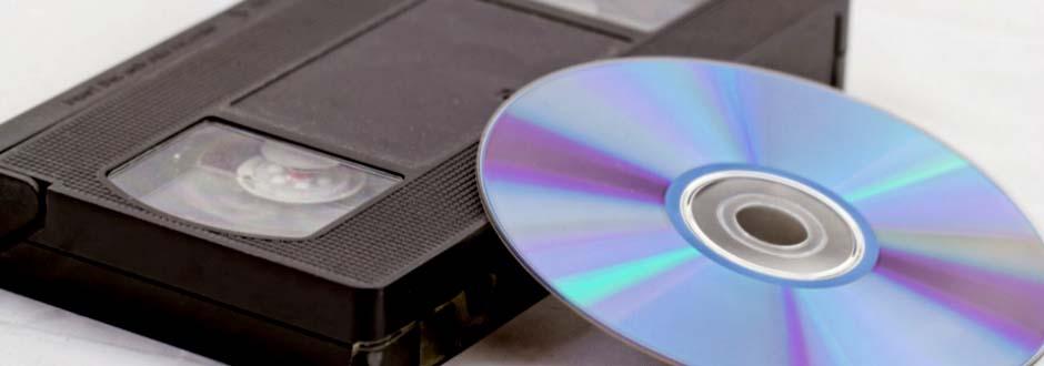 Copie d'une cassette vidéo sur support optique DVD