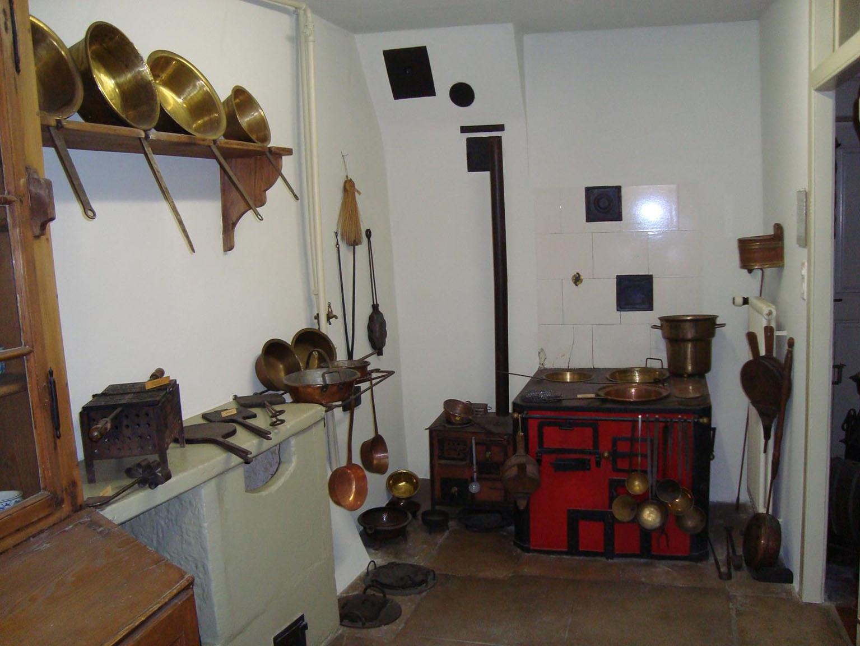 Originalküche aus dem 19. Jahrhundert