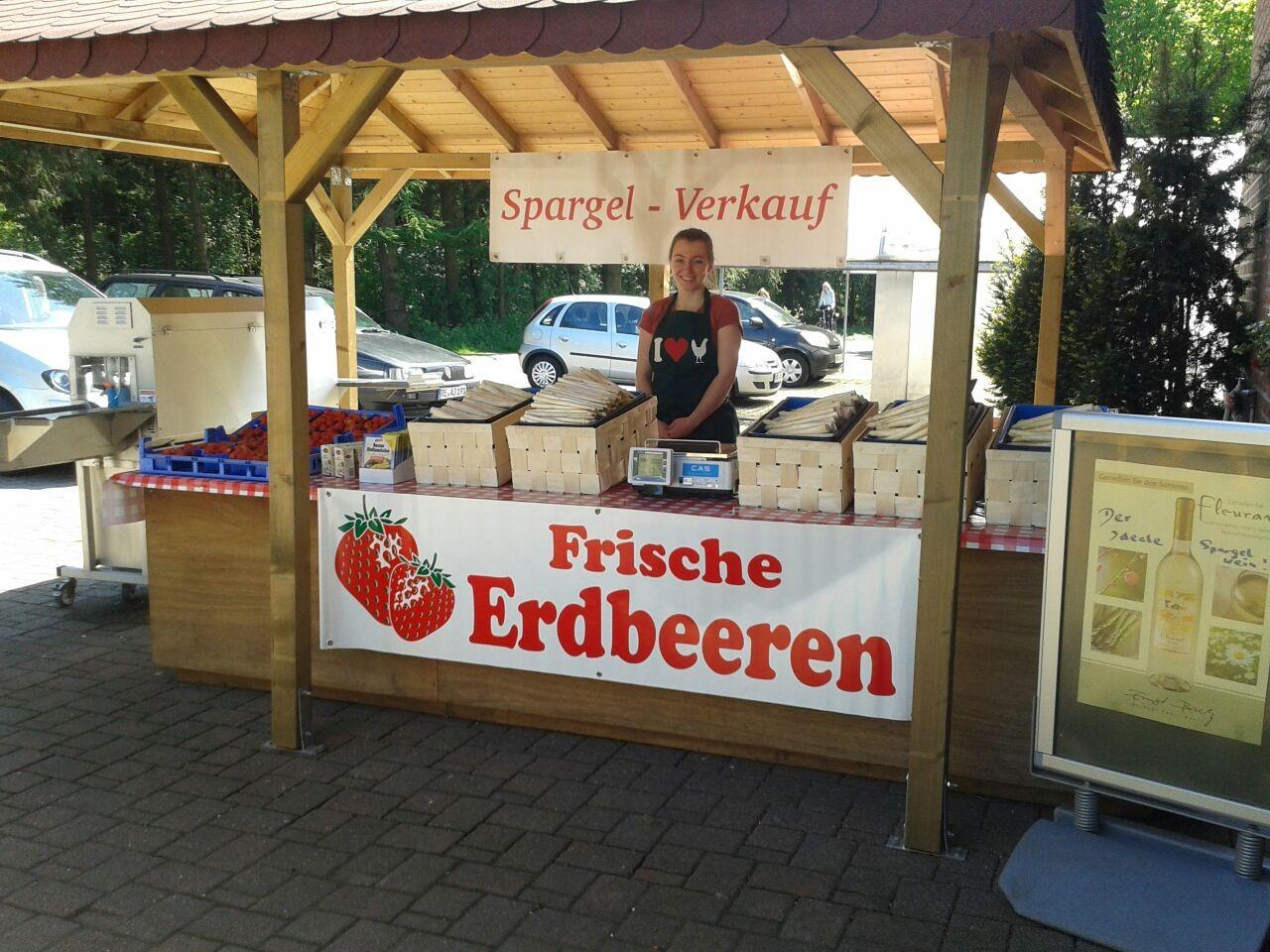 Die Spargel - und Erdbeerzeit hat wieder begonnen!