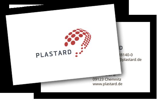 Visitenkarte Plastard