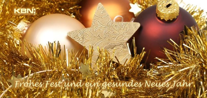 Klappkarte Weihnachtsbotschaft