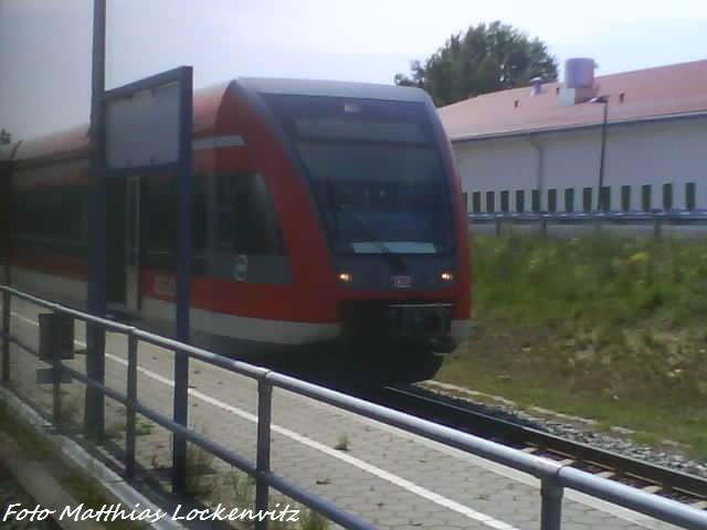 BR 646 Im Bahnhof Zinnowitz (Usedom-Express)