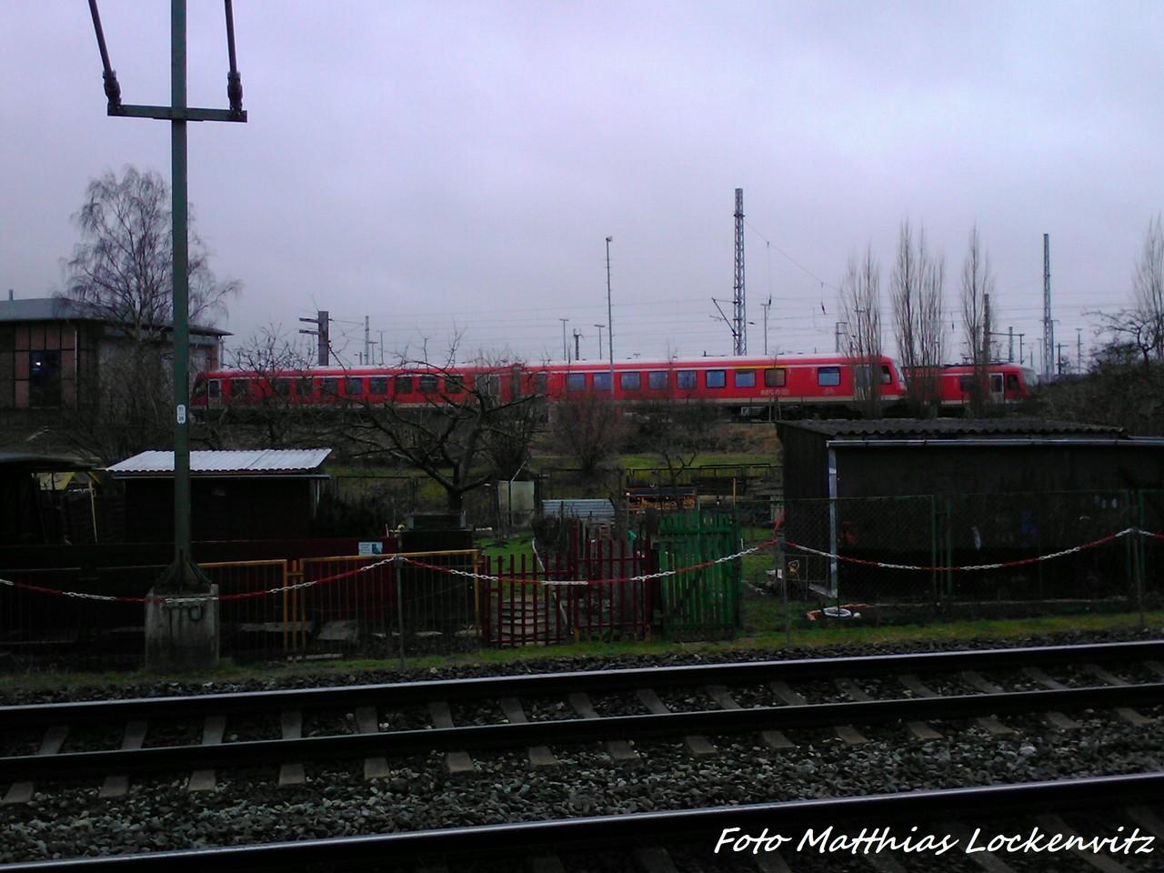 BR 628er Im BW Rostock am 3.2.13