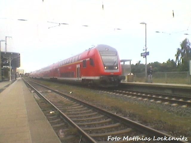 RE3 Im Bahnhof Anklam (15.9.2012 / 11:03)