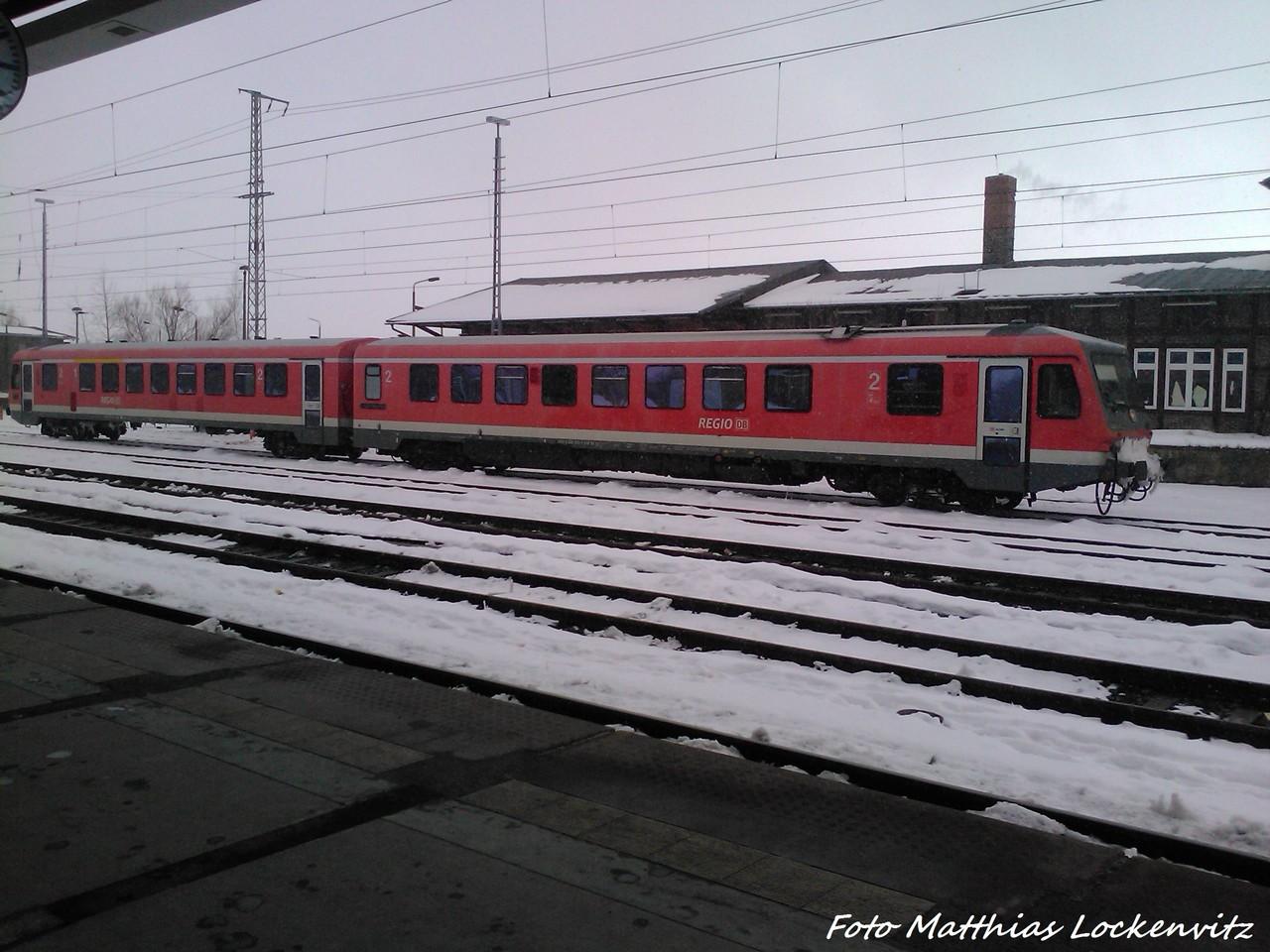 628 243 / 928 243 Abgestellt Im Bahnhof Stralsund Hbf