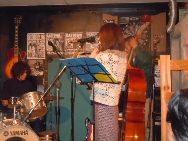 コウノ君&まきさん&Rhythm Section 2011.1.8