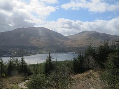 Blick auf dem Loch Lomond