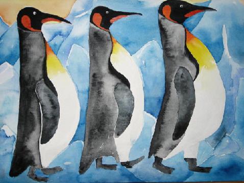 Der Marsch der Pinguine