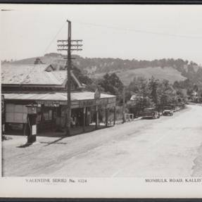 Kallista General Store, Monbulk Road 1920's