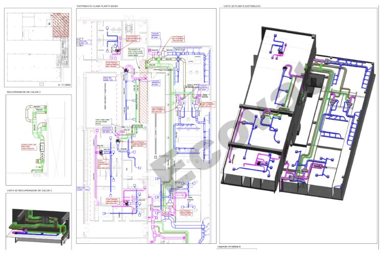 """""""Modelado 3D de las instalaciones con software BIM"""""""