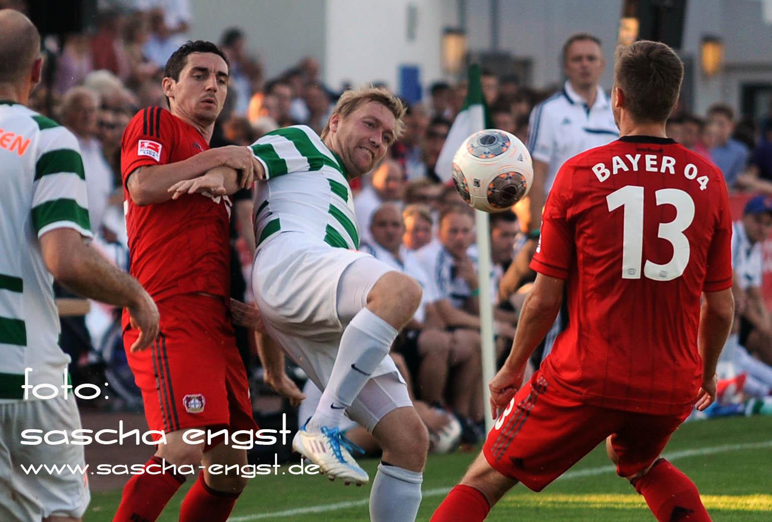 Daniel Thonke Testspiel Bayer Leverkusen - SSV Merten