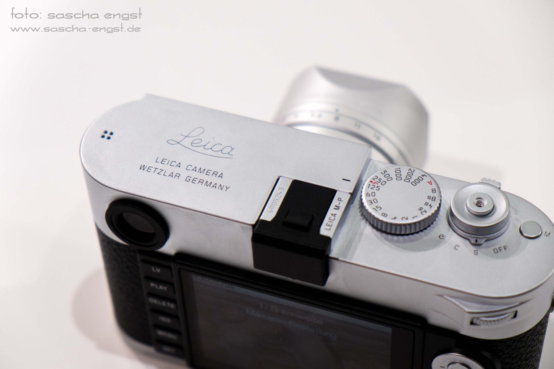 Die neue Leica M-P