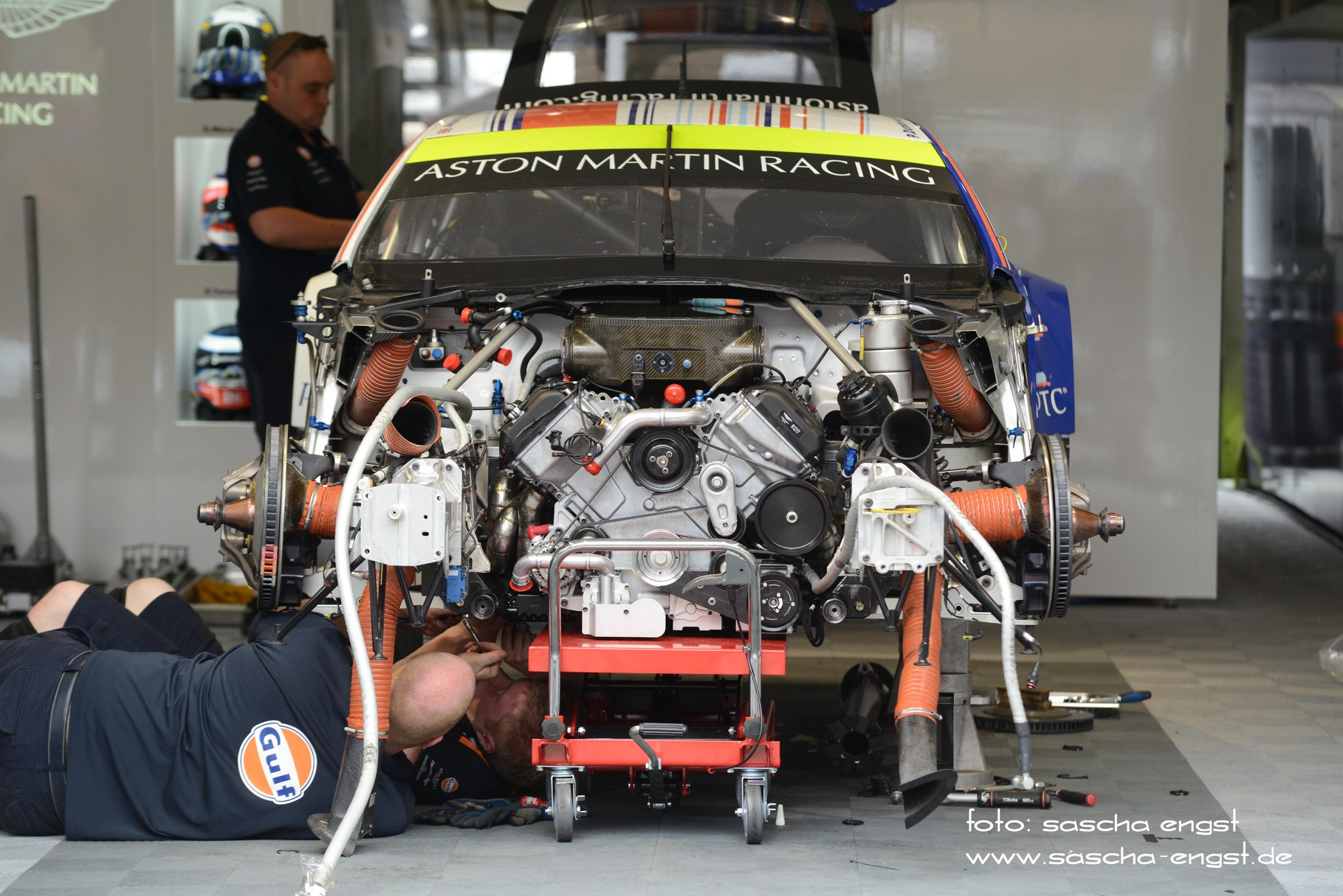Motortausch Aston Martin Vantage V8 GTE Pro 24h du Mans 2013