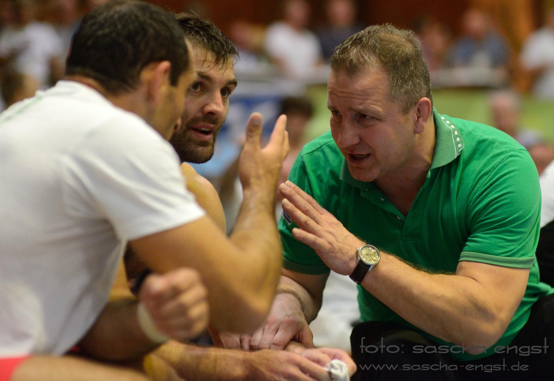 Roman Mysliewitz Trainer Bundesliga mit Sylwester Charchewski Team TKSV Duisdorf