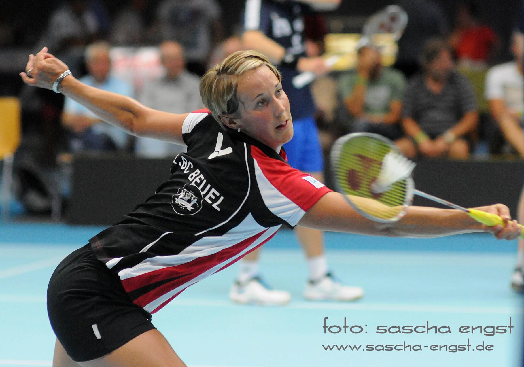 Birgit Michels 1.BC Beuel 2014 Badminton Bundesliga