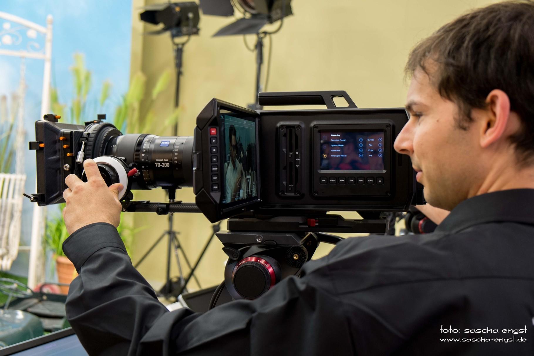 Blackmagic 4K Ultra-HD Videokamera