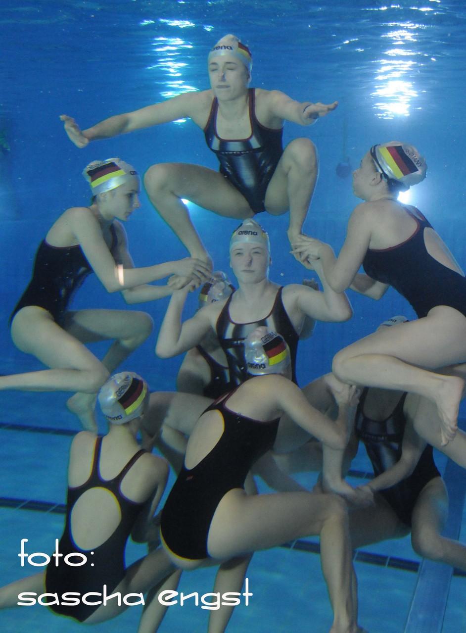 German Open Synchronschwimmen Team Deutschland