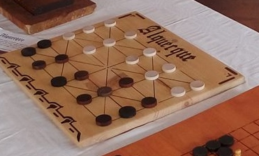 Alquerque: jeu de stratégie de moyen âge