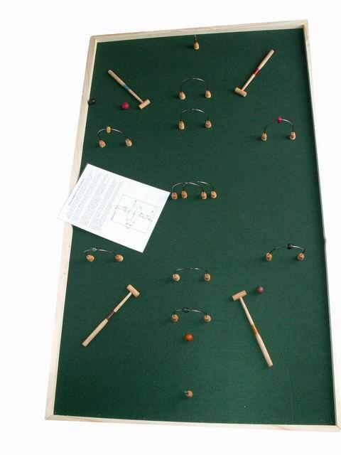 Le croquet de table.  Dès  5 ans