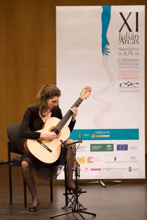 Julian Arcas Guitar Competition, Almeria (Spanien) 2010