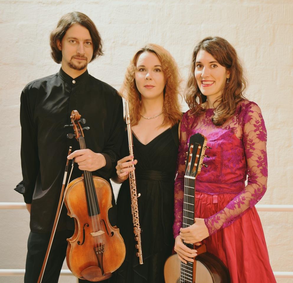 Ensemble Diversitas, Evgeniya Spalinger, Flöte, Grigory Maximenko, Viola, Marisa Minder, Gitarre 2018