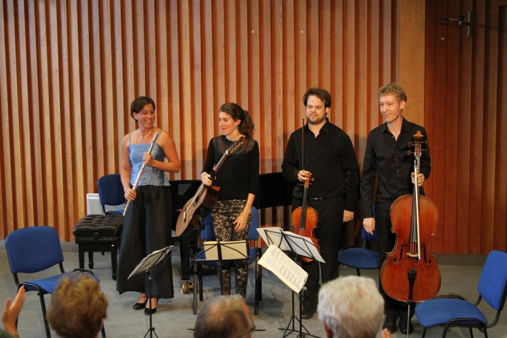 Konzert Schubertiade Académie-Festival des Arcs (Frankreich) 2016