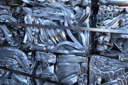 Schrottverkauf Aluminium Pakete