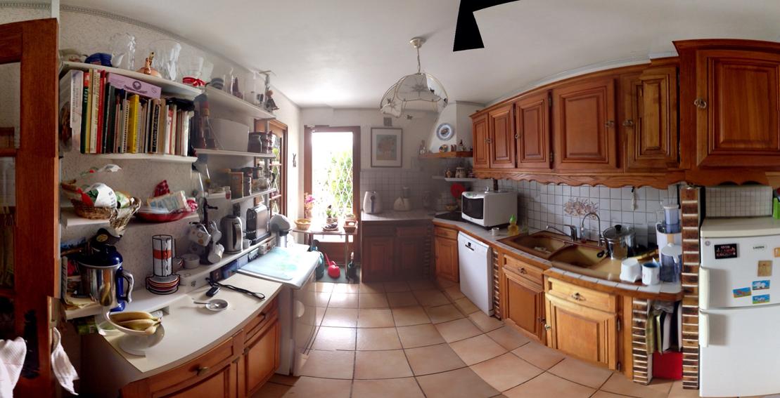 Avant - La cuisine