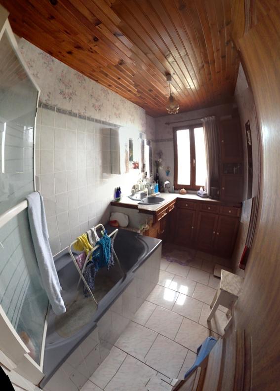 Avant - La salle d'eau