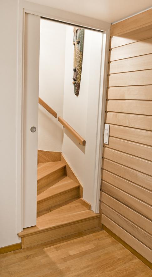 Réalisation - l'escalier basculé